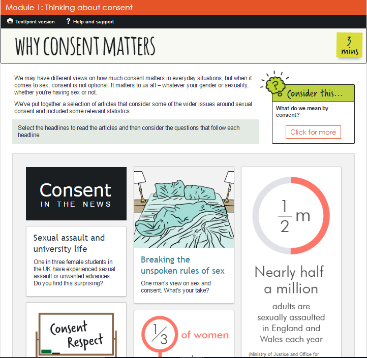 Evidence-based- Consent in the News